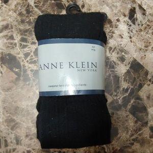 Anne Klein sweater knit tights